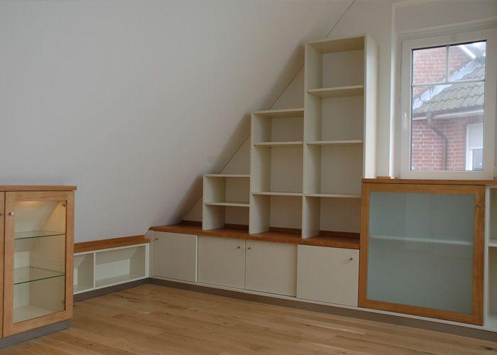 Möbel Für Die Dachschräge Das Holzatelier